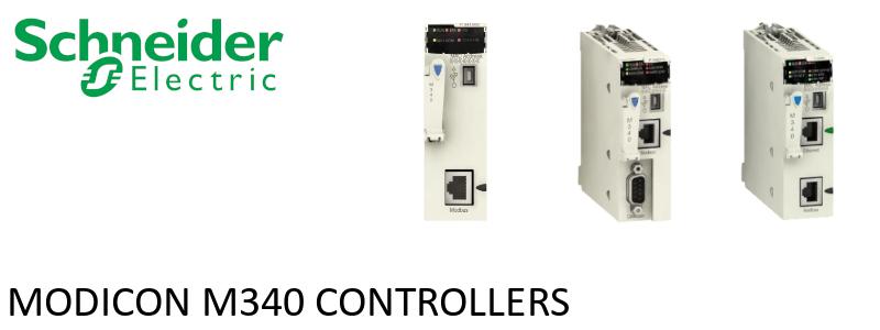 Modicon M340 controllers
